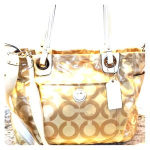 COACH Signature Baby Bag/Large Tote