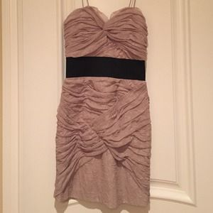 Foley + Corrina khaki dress