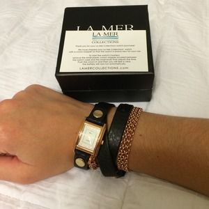 La Mer collection wrap watch