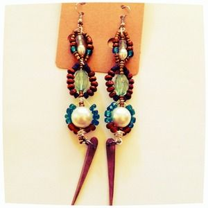 Godess Pearl multicolored Earrings