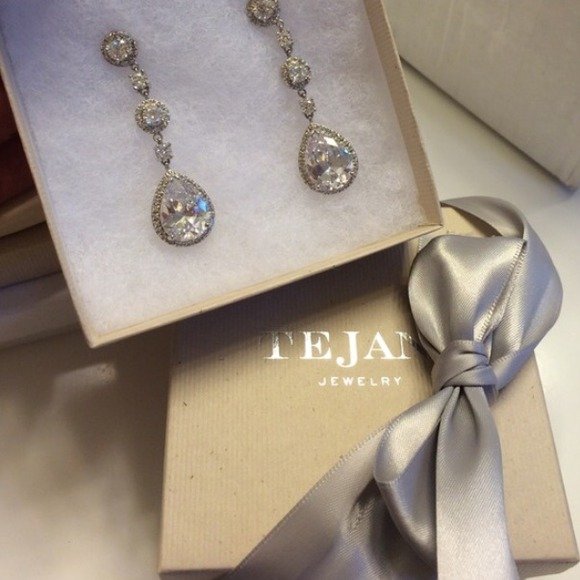 58% off jewelry tejani bridal formal wedding earrings!! from Wedding Jewelry Tejani jewelry tejani bridal formal wedding earrings! wedding jewelry tejani