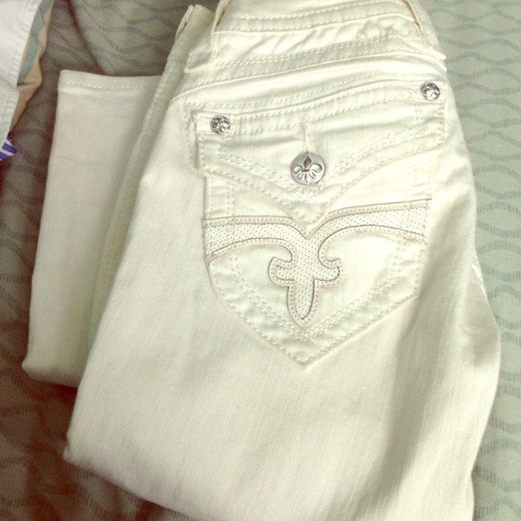 white rock jeans - Jean Yu Beauty