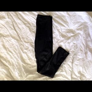H&M Pants - H&m faux leather pants $10 Small pp