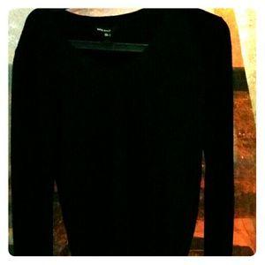 Mango basic black sweater