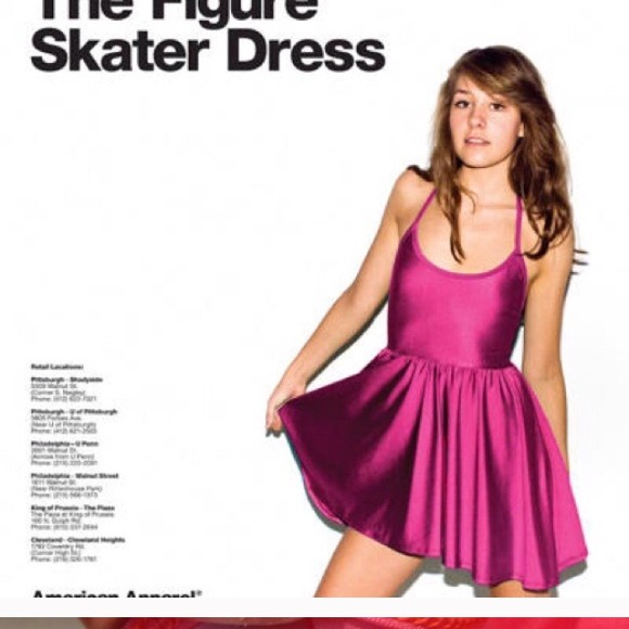 How to style american apparel skater dress