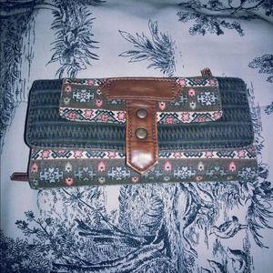 Super Cute Aztec Clutch Wallet