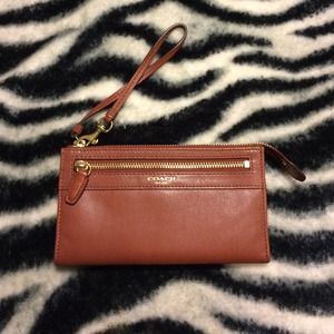 Coach Zippy Wristlet Wallet