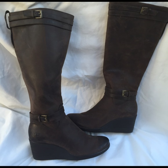 Wedge Heels Ugg Boots | Planetary Skin Institute