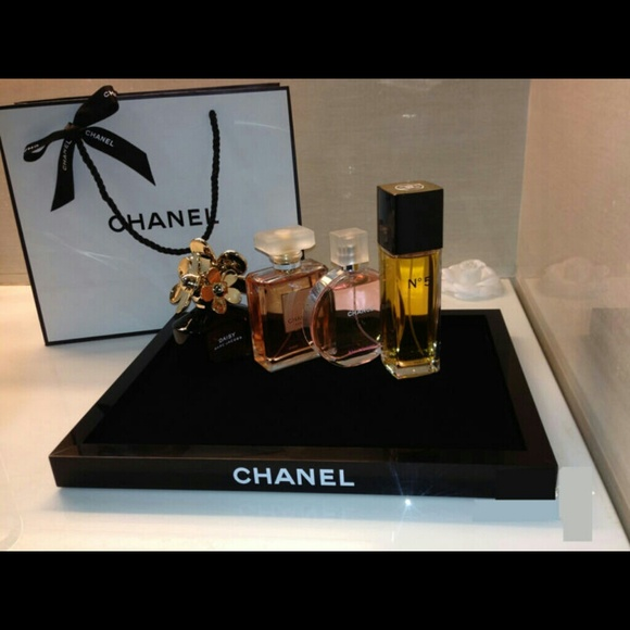Accessories Black Friday Chanel Acrylic Makeup Tray