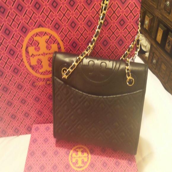 4ac45b31854 SALE TORY Burch Fleming Medium Bag NWT