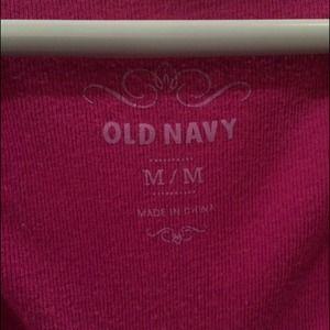 Old Navy Tops - Old Navy v neck tee, magenta