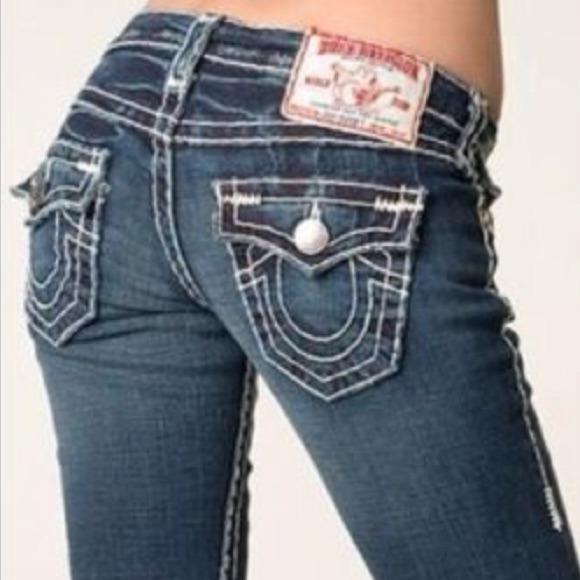 true religion jeans new womens white stitched denim poshmark
