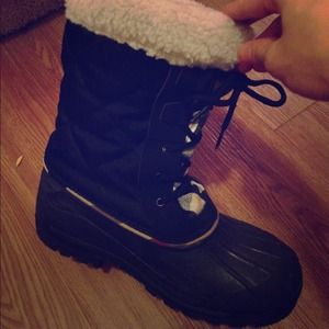 Boots - Burberry snow boots!