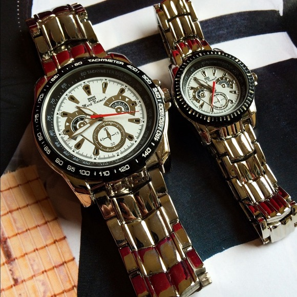 His And Hers Watch Sets >> Accessories Mark Naimer His Hers Watch Set Poshmark