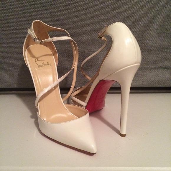 White Louboutins Fake Louboutins Shoes