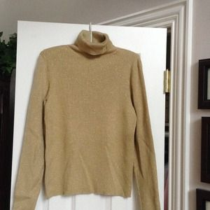 PRICE SLASHED!!! Lauren Gold Sweater