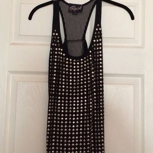 Gifted Stella & Jamie* Studded* Tank Top*