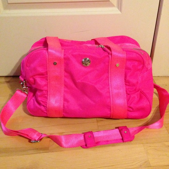 41 Off Lululemon Athletica Handbags Lululemon Neon Pink