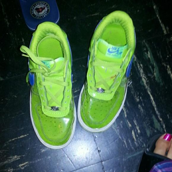 en el medio de la nada telar Salida  Nike Shoes | Clear Lime Green And Turquoise Uptown Nikes | Poshmark