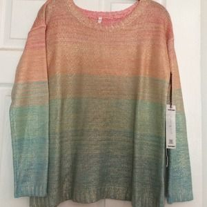 Willow & Clay* Pastel*Sweater*