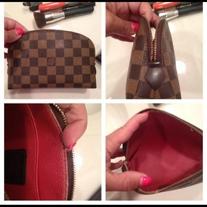 Louis Vuitton Accessories - Authentic LV Ebene Cosmetic pouch.