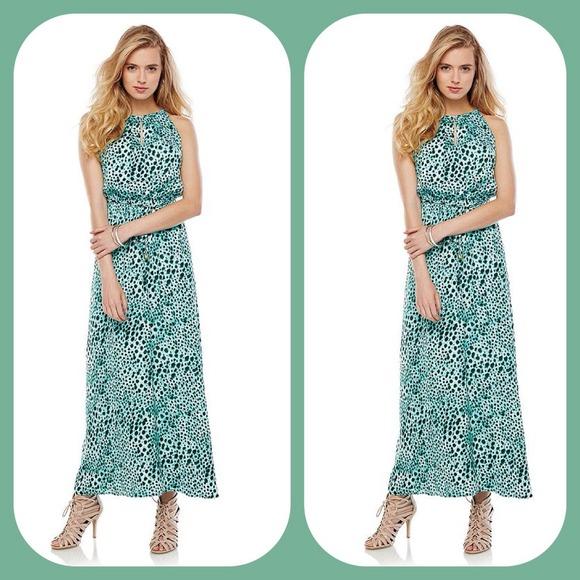 7a7663d106ac Jennifer Lopez Dresses | Jlo Silky Cheetah Print Maxi Dress | Poshmark