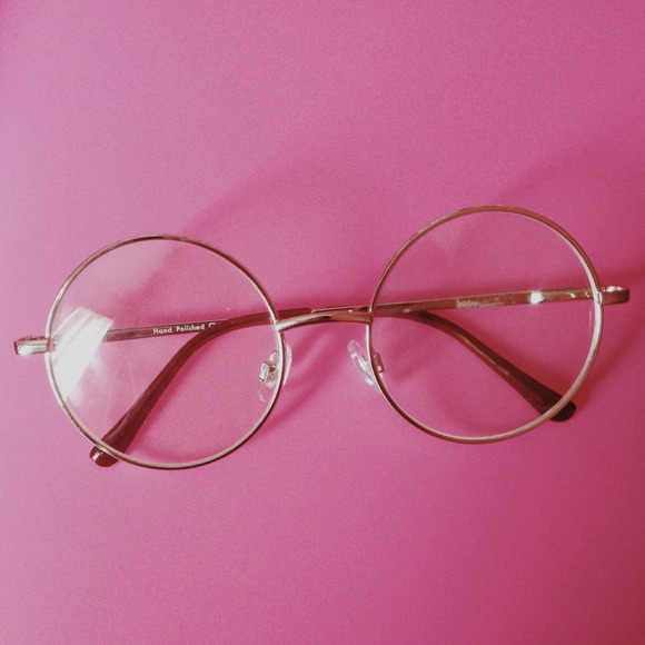 a93a8c7b68c Forever 21 Accessories - Round Clear Glasses 👓