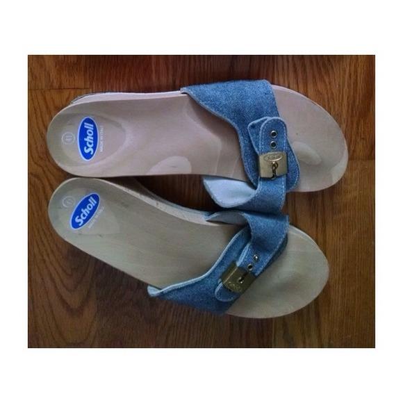 1cea6d2ba0ec Shoes - Original Dr. Scholl s Wooden Exercise Sandal