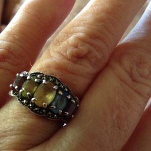 Multi colored ring