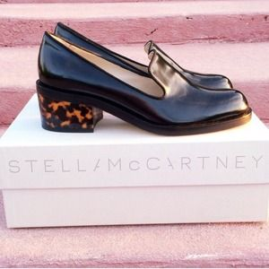 Stella McCartney Tortoise Loafers