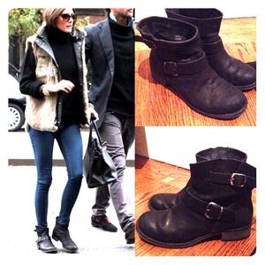 Report Boots - Olivia Palermo's Report Jude boots size 6