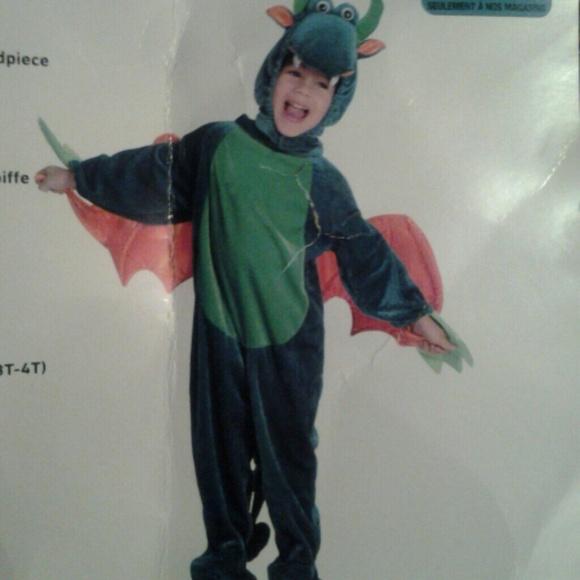 CHILDRENu0027S DRAGON COSTUME-3T-4T-NEW & ALTEREGO Costumes | Childrens Dragon Costume3t4tnew | Poshmark