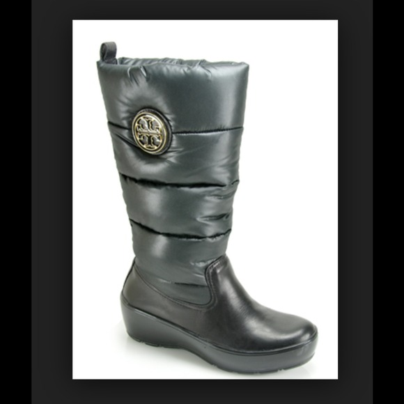 ff3947dfcd2 Tory Burch Puffer Snow Rain Boot. M 542c2c162662031f77284ac2