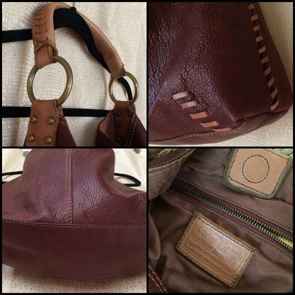 75% off Lucky Brand Handbags - Lucky Brand Vintage Slouchy Hobo ...