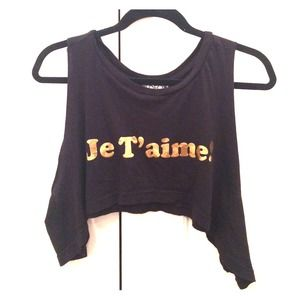 Wildfox crop top