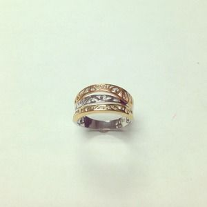 Jewelry - Three lines of life. Designer Silver 925 Ring