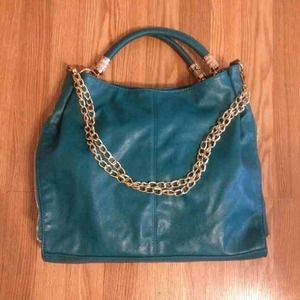 HOST PICK Teal Convertible Tote/Shoulder Bag