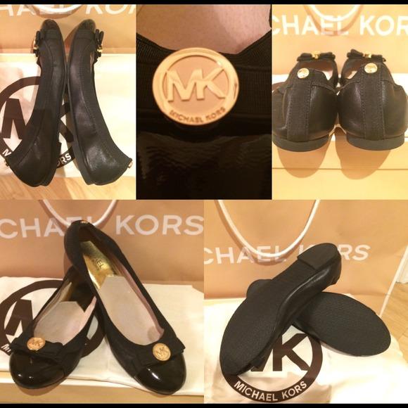 42 off michael kors shoes michael kors dixie ballerina flats in black from sivan 39 s closet on. Black Bedroom Furniture Sets. Home Design Ideas