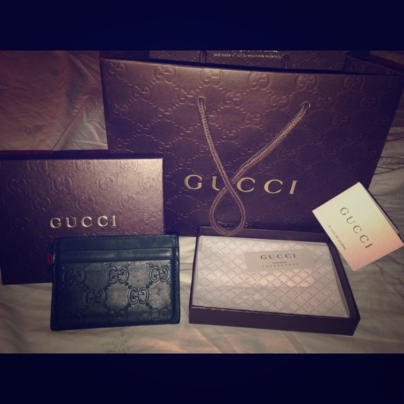 488cf26ab49 Gucci Clutches   Wallets - Rubber guccissima leather card holder wallet 💳💳