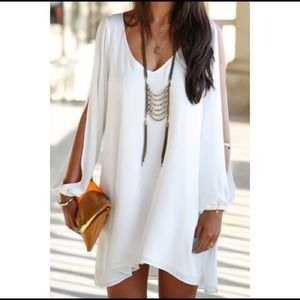 Dresses & Skirts - Long Sleeve Mini Dress