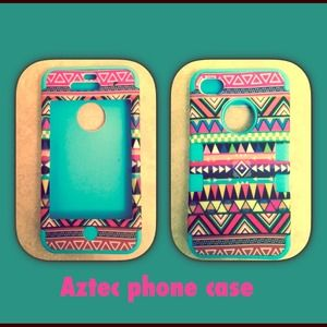 IPhone 4/4s Aztec cute case