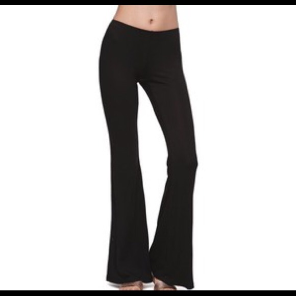 stretchy black pants - Pi Pants