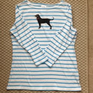 The Black Dog youth size XL cotton top