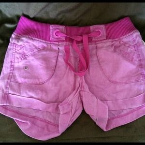 vanilla star Pants - 💖Pink 100% Linen Shorts💖