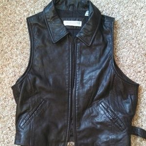 100% Genuine Leather Vest