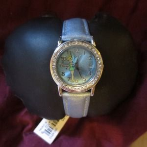Blue Tinkerbell watch