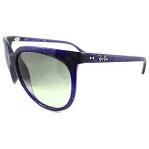 4439dc07712f0 Ray-Ban Accessories - Ray-Ban Sunglasses Cats 1000 Blue Violet Glitter
