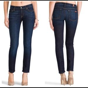 "{7FAM} ""The Slim Cigarette"" Stretch Jeans"