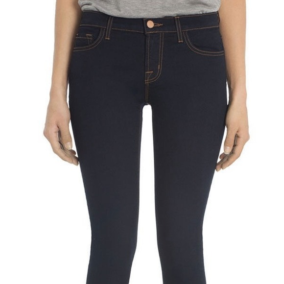 J Brand - J Brand Dark Wash Capri Skinny Jean Ankle Legging from ...
