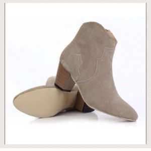 Western ankle boots Isabel marant style